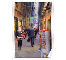 Alley Genoa two Poster