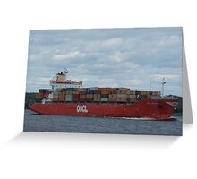 Shipping news 0001 Greeting Card