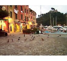 Portofino Nigth Photographic Print