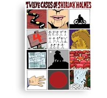 12 Cases of Sherlock Holmes Canvas Print
