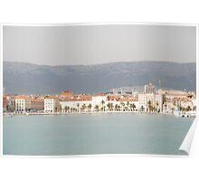 adriatic sea croatia split Poster