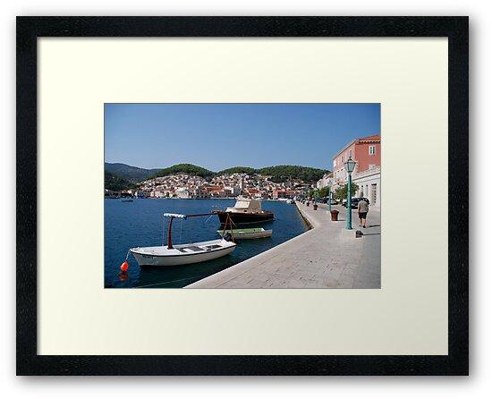 adriatic sea croatia by 305movingart