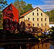 Prallsville Mill  by Debra Fedchin