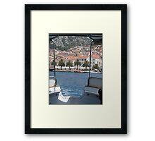 hvar croatia  Framed Print