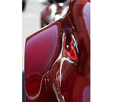 Red Curves Photographic Print
