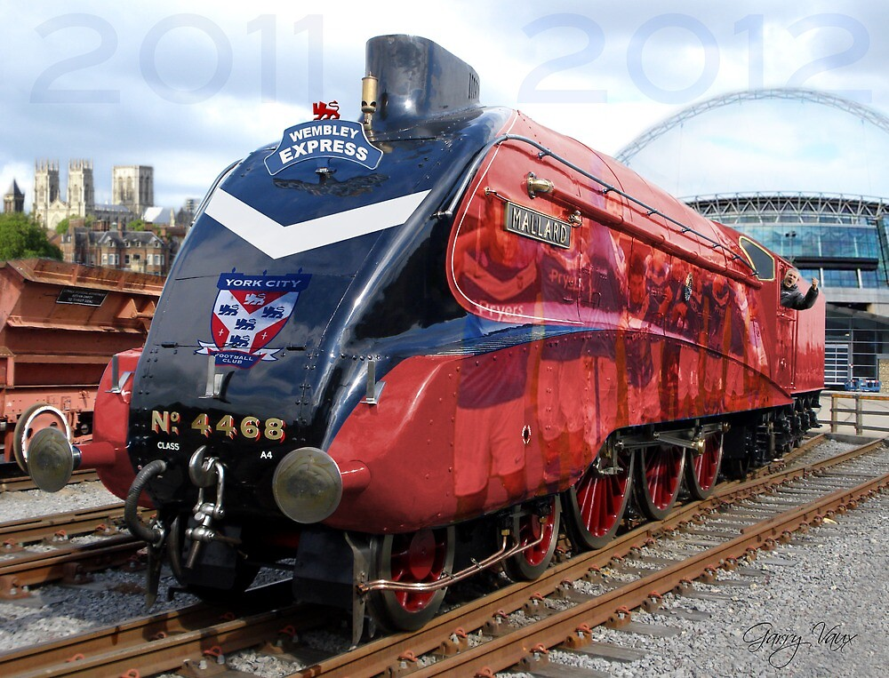 York City FC - Promotion Train 2011-2012 by VauxBubble