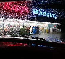 Neon Rain...Coquille, Oregon by trueblvr