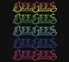The Bee Gees Logo Print by SkinnyJoe