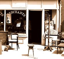 The Old Curiosity Shop Sepia by seanwareing