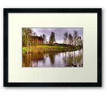 Landscape - HDR Framed Print