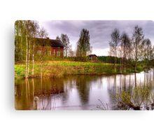 Landscape - HDR Canvas Print