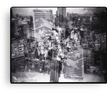 Osaka City Scape Canvas Print