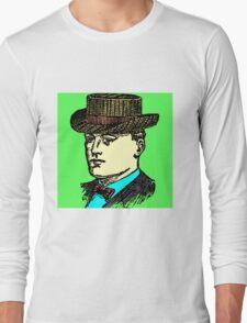 Vintage Brown Hat Long Sleeve T-Shirt