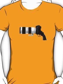 Shoot! (White Barrel) T-Shirt