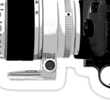 Shoot! (White Barrel) Sticker