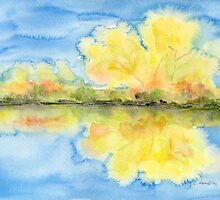 Autumnal Reflections by Caroline  Lembke