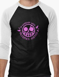 One Piece Doflamingo Justice T-Shirt Men's Baseball ¾ T-Shirt