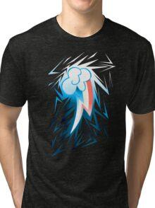 Shards of Rainbow Dash's Cutiemark Tri-blend T-Shirt