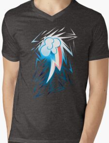 Shards of Rainbow Dash's Cutiemark Mens V-Neck T-Shirt