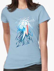 Shards of Rainbow Dash's Cutiemark Womens Fitted T-Shirt