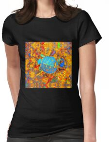 Toddler Turtle Womens Fitted T-Shirt