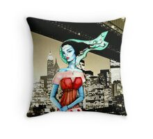 Sonic Siren ( Version 2 )  Throw Pillow