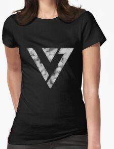 Seventeen Logo Womens Fitted T-Shirt