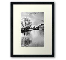 Stratford upon Avon Framed Print