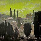 Tuscan Villa by Karen Lewis