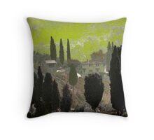 Tuscan Villa Throw Pillow