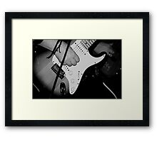 Guitar Hero Framed Print