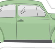 cox vw green Sticker