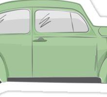 cox vw green Sticker