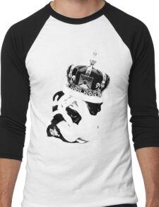 English Bulldog  Men's Baseball ¾ T-Shirt
