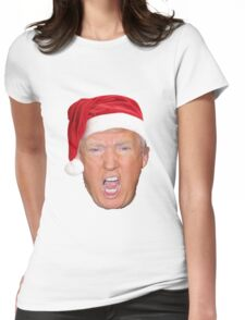 Christmas Trump Womens Fitted T-Shirt
