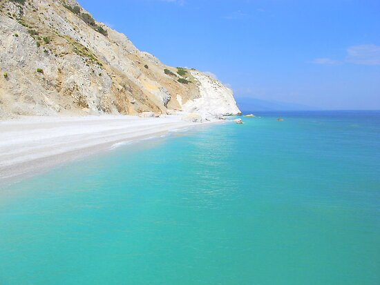 Skiathos Island Greece  City new picture : Skiathos Island, Greece Lalaria Beach and Limestone Cliffs by Honor ...