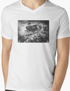 LURKING IN THE TREES Mens V-Neck T-Shirt