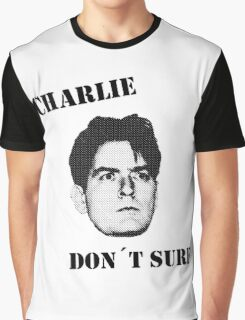 Charlie don't surf - Cool Mashup Graphic T-Shirt