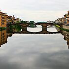 Full Florentine Bridge by Jewel Pfaffroth