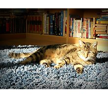 Rapstar Sunbathing Photographic Print