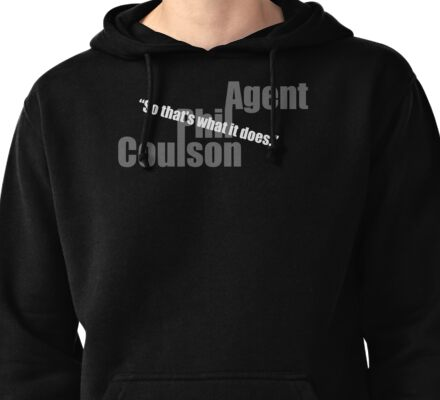 so.. thats what it does.. (2) Pullover Hoodie