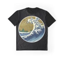 Japanese surf wave Graphic T-Shirt