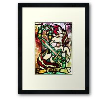 ArcanaPonies - Justice Framed Print