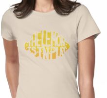 THE LEMON IS IN PLAY Womens Fitted T-Shirt