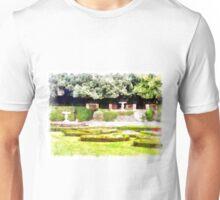 Castel Gandolfo: garden of the Villa Barberini Unisex T-Shirt