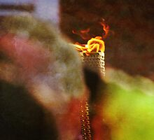 The Olympic Torch by Rachelo