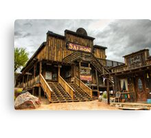 Goldfield Ghost Town - Mammoth Saloon  Canvas Print
