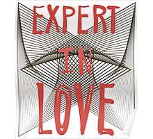 Expert in love. Poster