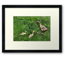 """This way Kids"" Framed Print"