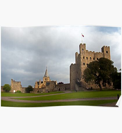 Castle & Cathedral Poster